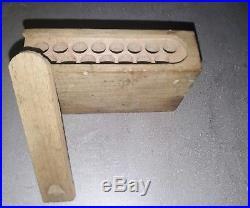 Caisse allemande WW2 grenades M24 fumi. Avec son rack + une boîte vide de détos