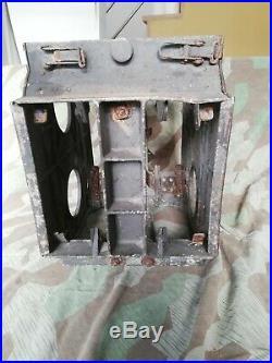 Caisse allemande camo deux tons tellermine WW2/ Case army German WW2