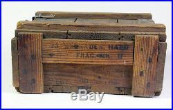 Caisse pour Grenades US OMAHA BEACH Normandie 44 (matériel original)