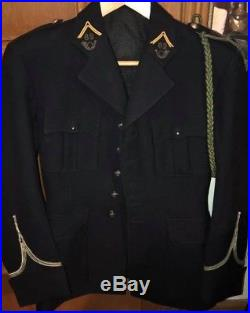 Campagne de France 1940 Veste officier 62 ème Bataillon de chasseurs Alpins