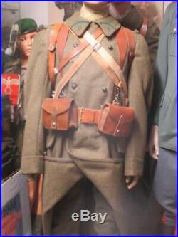 Capote Kakie D'infanterie ML 1920/22 Troupe Ww2 France 40 État Neuf