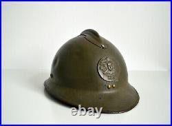 Casque ADRIAN MODELE 26 AUTO MITRAILLEUSE WW2 FRANCE