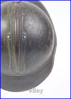 Casque Adrian Français WW1 du génie (matériel original)