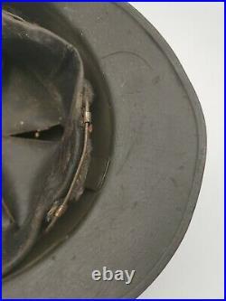 Casque Adrian Modèle 1926 Troupe Coloniale Ww2 France 40 Marine
