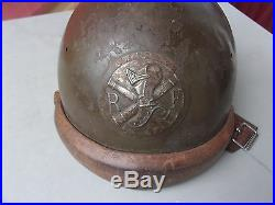 Casque Adrian tankiste modele 26- french tank helmet- frankreich panzer helm