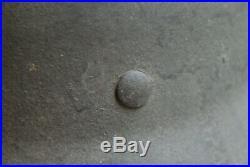 Casque Allemand M40 Brut De Decouverte