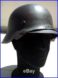 Casque Allemand complet M42 original Feldgrau Stahlhelm German Helmet Wehrmacht