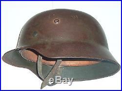 Casque Allemand modèle 35 de la 2ème guerre mondiale