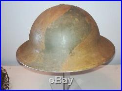 Casque Anglais GB WW2 camoufler
