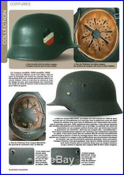 Casque Armée Allemande Afrika-Korps (Rommel) WW II -1939/1945 Mld 35