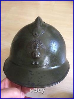Casque Armée Libération 39 45 ww2 US Français Tirailleur Spahi Maroc
