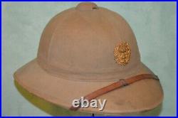 Casque Colonial Modele 1931 Service De Sante Aux Colonies-medecin Militaire 1939