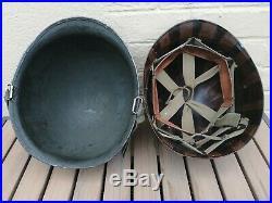 Casque Et Liner Us M1 Ww2 Wwii (us M1 Helmet Americain)