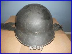 Casque Fr Mle 1935 De Char De Combats Datee 1940