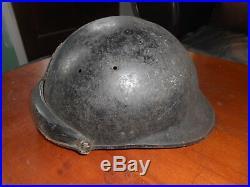 Casque Fr Mle 1935 Troupe Motorise De La Division Infanterie Colonial Dfl 1944