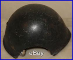 Casque Italien Modele 33 pour canonnier de marine RSI, Italian helmet