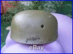 Casque Luftwaffe Allemande De Ww2m38 Fallschirmjägergerman Luftwaffe Helmet
