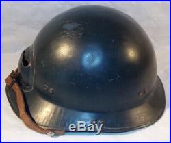 Casque Marine Nationale modèle 1939 (deuxième type) français WW2