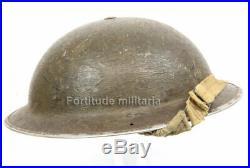 Casque Mk2 Anglais -1940- BRITISH ARMY W2 (matériel original)