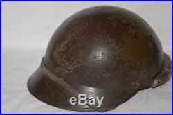 Casque Mod. 1935 Cavalerie Motorisee-blindee-1940-french Adrian Tank Helmet 2°ww