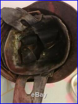 Casque Troupes Motorisées Modèle 35 French Ww2 Helmet