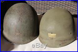 Casque US M1 Mc Cord Capitaine Francais WW2