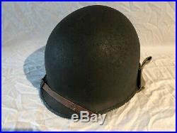 Casque US M1 WWII WW2 Helmet, Helm 100% original! Fixed bails