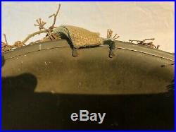 Casque US M1 WWII WW2 Helmet, Helm 100% original! Fixed bails and net