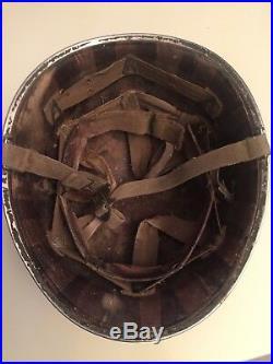 Casque US WW2 USM1 Francais Libération