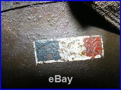 Casque US army drapeau libé 1ère Armée Française libération 1944-45 WWII