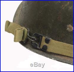Casque US pattes fixes! US ARMY WW2 (matériel original)