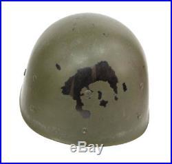 Casque US pattes mobiles camouflé! US ARMY WW2 (matériel original)