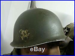 Casque Us 101 Airborne 502 Pir