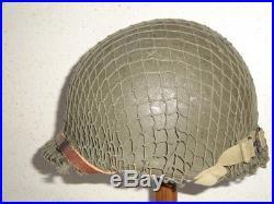 Casque Us M1 Wwii Authentique Complet Us Helmet Liner