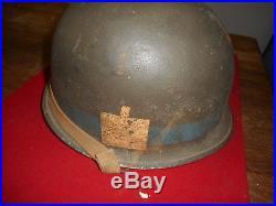 Casque Usm1 Mle 1943 Attache Mobile Mp De La 101 Reconnaissance