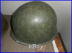Casque Usme Mle 1943 Avec Insigne Fr Division Infanterie Colonial