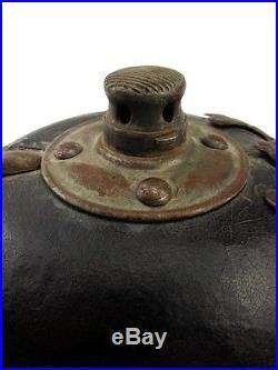 Casque a pointe modèle 1895 allemand ww1 (authentique)