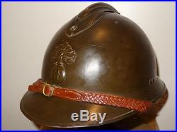 Casque adrian officier infanterie france 40