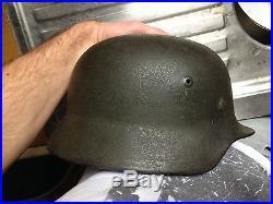 Casque allemand 2ème guerre WW2, uniforme
