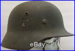 Casque allemand Heer m35 DD ww2