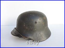 Casque allemand M35 Gris ardoise Stahlhelm
