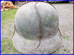 Casque allemand german helmet ww2
