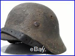 Casque allemand m40 ELITE SS. Tout d'origine