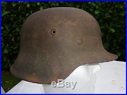 Casque allemand original WW2