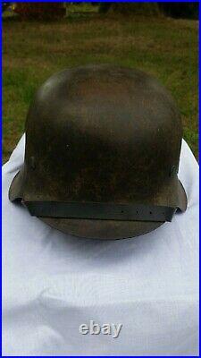 Casque allemand ww2 Heer M42 complet 100% original