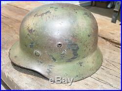 Casque armée allemande camouflé