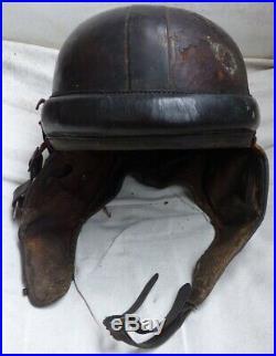 Casque d'aviation aviateur zinszner Modèle 1933 parachutiste