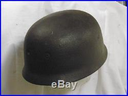 Casque de parachutiste allemand. Helmet Fallschirmjäger Normandie D Day