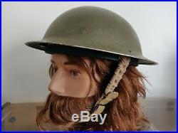 Casque helmet canadien Canadian mkll MK2 WW2 WWII US ARMY 1941