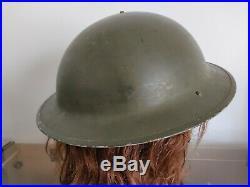Casque helmet canadien Canadian mkll MK2 WW2 WWII US ARMY 1942